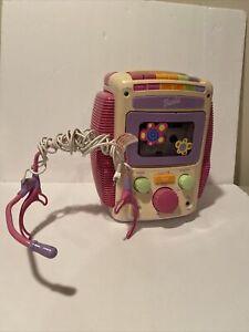 Mattel 2001 Cassette Tape Player Barbie BE-477 Sing-Along-Karaoke With Tape