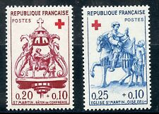 STAMP / TIMBRE FRANCE NEUF N° 1278/1279 ** CROIX ROUGE