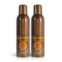 2 x Body Drench Quick Tan Bronzing Spray Medium Dark 170g 6 oz Sunless Tanner