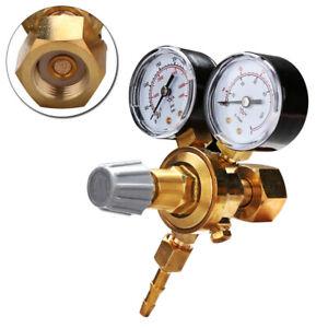 MINI Druckminderer Schweißgerät MIG MAG WIG Argon Co2/Stickstoff Druckregler