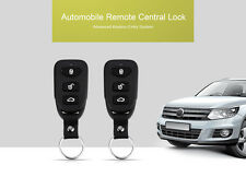 Universal Car 2Pcs Controllers Remote Kit Door Lock Vehicle Keyless Entry System