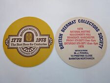 COASTER <> STRANGEWAYS Brewery Boddingtons ~*~ Best Beer for Centuries 1778-1978
