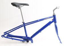 """Torker T300 14"""" Aluminum Cruiser 700c Bike Frameset + Extras Blue NEW"""