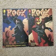 The Rook #1 & 2 | Signed by MIKE MIGNOLA & KIRK VAN WORMER | Harris Comics, 1995