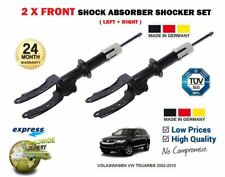 FOR VOLKSWAGEN VW TOUAREG 2002-2010 2X FRONT LEFT + RIGHT SHOCK SHOCKER ABSORBER