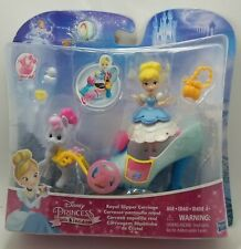 Disney Princess Little Kingdom CINDERELLA Royal Slipper Carriage Set Lot Pack