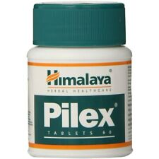 Himalaya PILEX 60 Tablets Bottle Herbal | Free Shipping Buy More Save More
