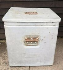 More details for vintage 1960s catering aluminium grundy bin extra large food shortage container