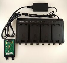 Motorola WPPN4065BR Four-unit NiCD, NiMH Battery Charger for HT1000, MTS2000 etc
