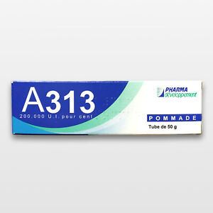 A313 Pomade | Vitamin A Retinol Cream 50g | Genuine | Made in France | Avibon