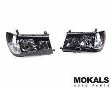 Black headlights for Toyota landcruiser 100 series 1998-2005 PERFORMANCE TYPE