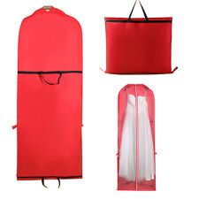 "60"" Dress Dustproof Cover Wedding Formal Gown Garment Storage Bag Protector"