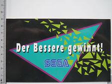 Aufkleber Sticker Sega - Videospiele - Spielkonsolen - Arcade (5347)