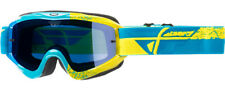 Fly Racing Zone Composite Youth MX Offroad Goggles Blue/Hi-Vis