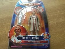 The Fifth Doctor with Sonic Screwdriver Figure