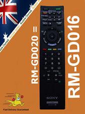 GENUINE SONY REMOTE CONTROL RM-GD020 RMGD020 KDL-40CX520 KDL-40CX523 KDL-40EX520