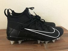 Nike Alpha 6 Huarache Elite LAX Mid Lacrosse Cleats Black 880409-010 Men Sz 10