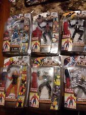 MARVEL LEGENDS RED HULK COMPLETE SET   Spiral, Wolverine, Warlock, Spiderman