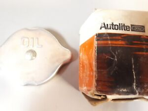 Ford NOS 272 292 332 Engine Oil Filler Cap Y BLOCK B6Q-6766 Autolite Motorcraft