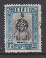 PAPUA: 1932 PICTORIAL    3d    IN  VERY FINE USED