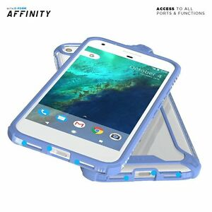[50pcs] For Google Pixel XL Case | [Slim Thin] TPU Bumper Shockproof Cover Blue