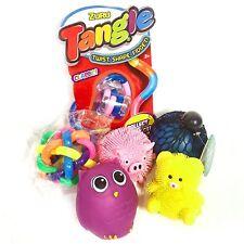 6 Sensory Toys - Mesh Ball, Tangle, Puffimal, Orbit Ball, Puffer Bear & Owl