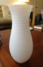 "Rare Signed Pink ""Delight"" Vase by Gunnel Sahlin, Kosta Boda Excellent Condition"