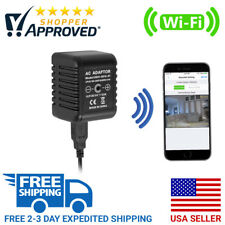 SpygearGadgets 1080P HD WiFi Streaming AC Adapter USB Charger Hidden Spy Camera