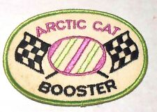 """Arctic Cat Booster Patch Embroidered 4"""" inch Sno Mobile"""
