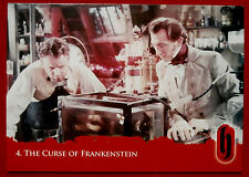HAMMER HORROR - Series Two - Card #04 - The Curse of Frankenstein - Strictly Ink