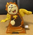 Vintage 1991 Cogsworth The Clock Burger King/Disney Wind Up Toy - Works