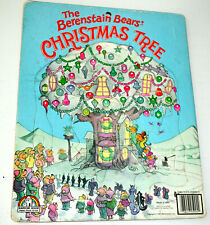 Vtg The Berenstain Bears Christmas Tree Puzzle Board 1980 VGC