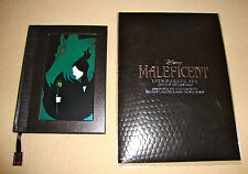 DISNEY STORE AUTHENTIC 'MALEFICENT' LIMITED EDITION 3000 LITHOGRAPH SET w/DIARY