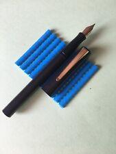 Pluma Estilográfica Waterman Negro Fountain Pen