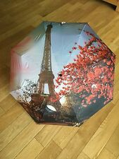 STYLISH LULU GUINESS / COMPACT/PATTERN UMBRELLA / USED GOOD CONDITION NO COVER
