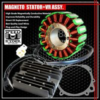 96-00 GSXR 600/750 MAGNETO COIL STATOR+VOLTAGE REGULATOR RECTIFIER+GASKET ASSY.