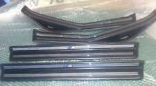 BMW E46 SALOON/TOURING M SPORT SILL TRIMS,FULL SET X 4, MINT CONDITION 98-04