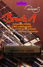 """Plattenbürste Kohlefaserbürste Carbonfaserbürste NEU Analogis """"Brush 1"""" Vinyl"""