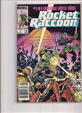 Rocket Raccoon #1 First Printing 1985 Comic Book.