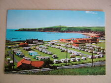Postcard. THE CARAVAN SITE AND BAY, STONEHAVEN. Used 1978. Standard size.