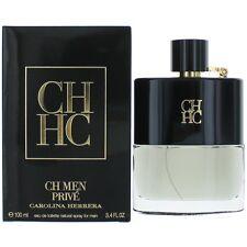 CH Prive Cologne by Carolina Herrera, 3.4 oz EDT Spray for Men NEW