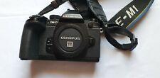 Olympus OM-D E-M1 16 MP Digitalkamera - Batteriegriff und Aufsteckblitz TOP!!!!!