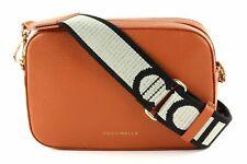 COCCINELLE Mini Bag Small Camera Bag Umhängetasche Clutch Abendtasche Tasche Tan