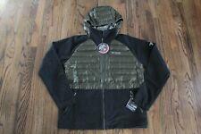 50 Columbia Titanium Snowfield Hybrid Full Zip Hooded Jacket Men's Size Large