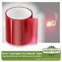 Rear Fog Light Lens Repair Tape for Trailer.  Rear Tail Lamp MOT Fix