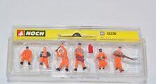 NOCH H0 15276 Gleisbautrupp Figuren Set, 6 Stück Arbeiter NEU in OVP Gleisbau
