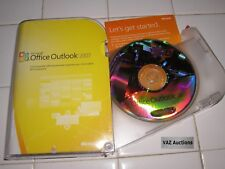 Microsoft MS Office Outlook 2007 Full Retail Box English Version =NEW=