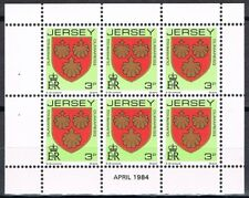 Jersey 3 blaadjes uit Pb - 3 panes 245-251-265 from  booklet apr 1984 MNH