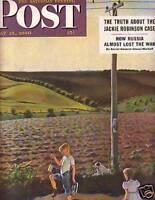 1950 Saturday Evening Post May 13 - Jackie Robinson