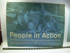 Fannie George Shaftel PEOPLE IN ACTION Role Playing ELEPHANT FOLIO Gerald Millet